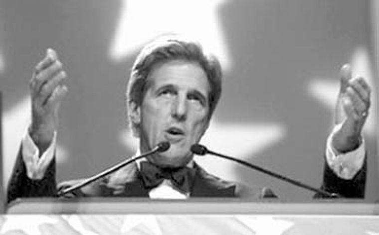 Kerry said he too would have sent troops to Iraq.