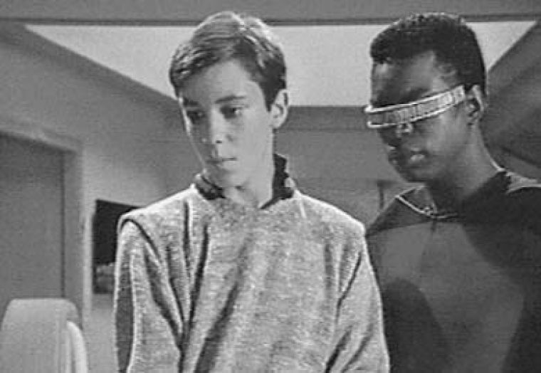 Wil Wheaton, seen here with Lavar Burton, is king of blogs.