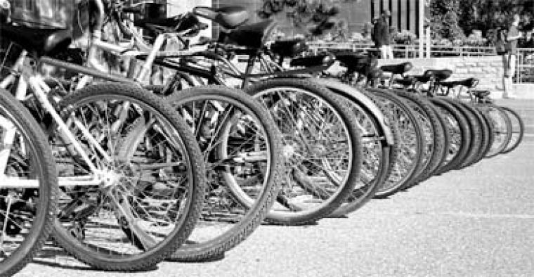 Nine bicycles have been stolen from Queen's property in the past ten days.