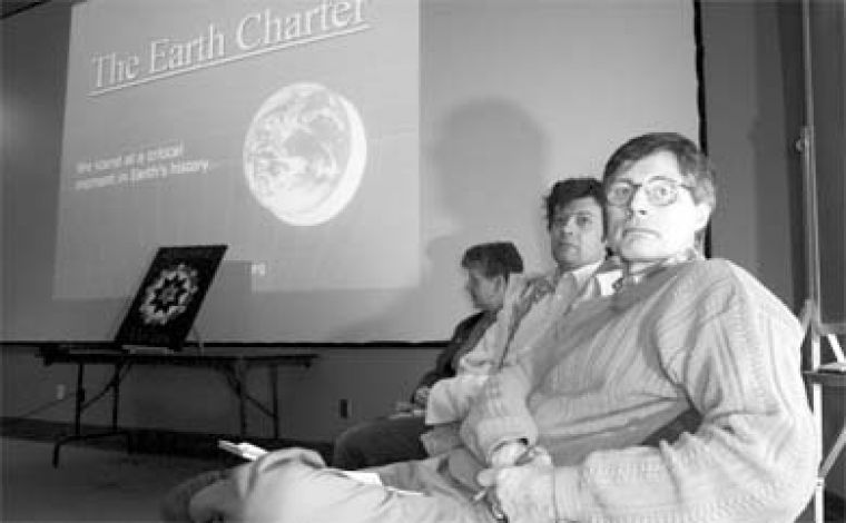 The Earth Charter hopes to promote discussion about the principles upon which international civil society should function.