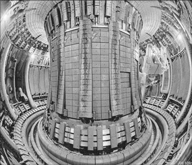 Inside the UK's JET Fusion Reactor. It has paved the way for ITER.