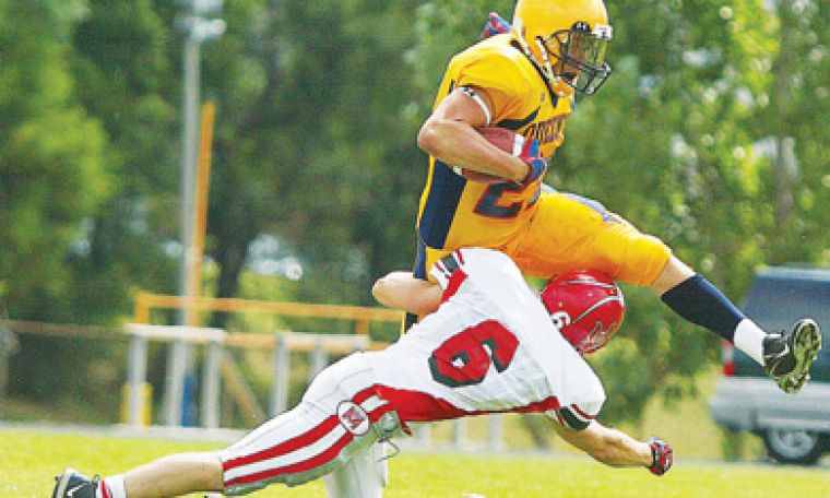 The Golden Gaels football team beat McGill 39-20 during their pre-season match.