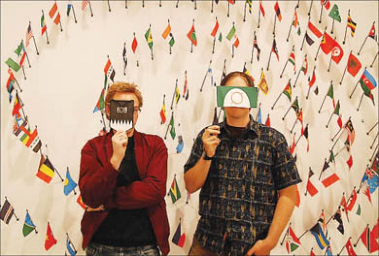 State Greetings artists Robert Jelinek and Mark Prier study identity and nationhood.