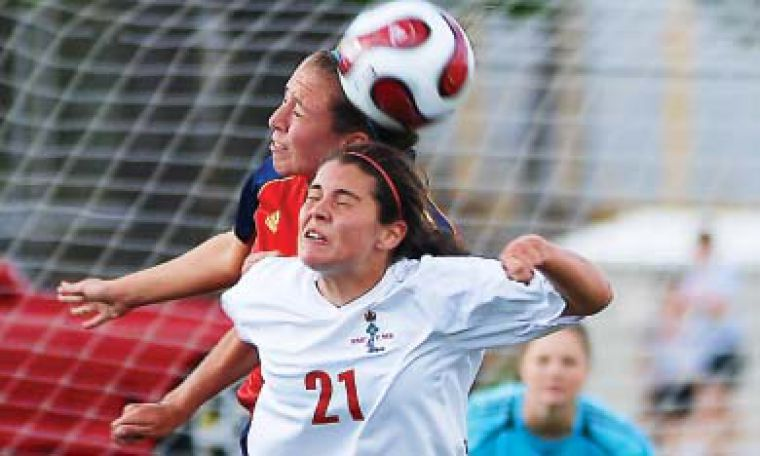 Women's soccer defeated the Royal Military College Paladins 2-0 on Wednesday at RMC.