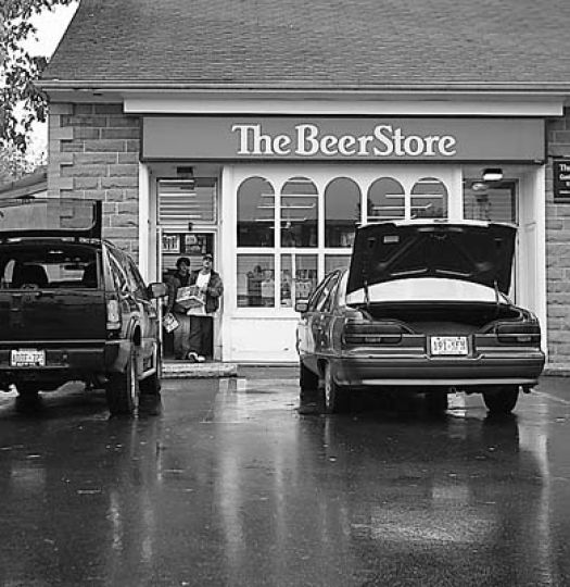 Students stock up in preparation for Homecoming weekend. The University is concerned about the sale of alcohol.