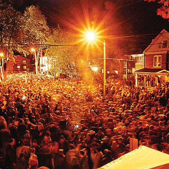 Police made 54 arrests related to Homecoming this weekend.
