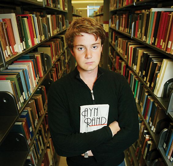 Reading Rand's Atlas Shrugged provided Kyle Duford the inspiration he needed to return to university after dropping out.