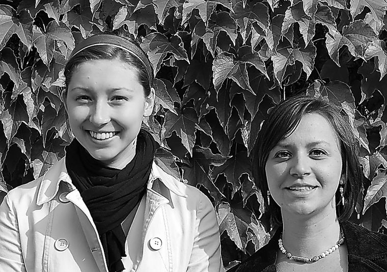 Earth Centre co-chairs Raili Lakanen and Michelle Berquist want to increase environmental awareness on campus and change students' consumption habits.