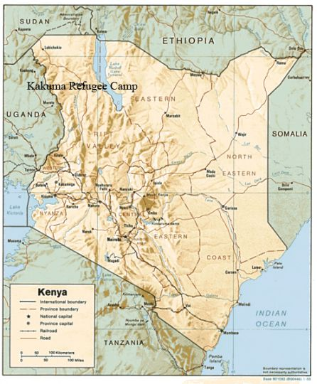 Kakuma Refugee Camp, where Agot Thon and Ajang Aguer lived before coming to Queen's, is the biggest refugee camp in Kenya.