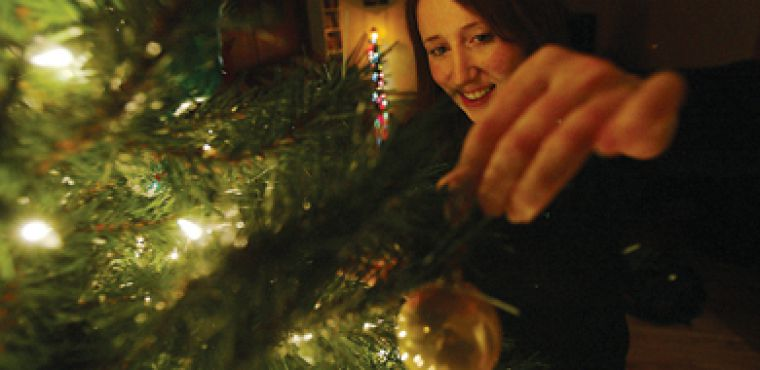 This is the first year Jess Foran got her very own Christmas tree to decorate for her celebration of the holiday season.