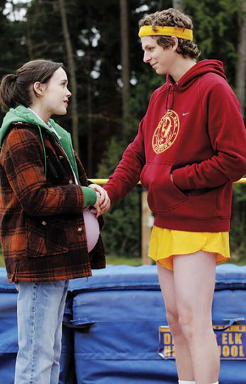 Haligonian Ellen Page plays a pregnant 16-year-old with a sharp wit in Juno. Her co-star Michael Cera returns to screen as the champion of the awkard pause.