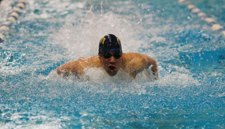 The men's and women's swimming teams hosted a meet Saturday. See Friday's paper for full details.