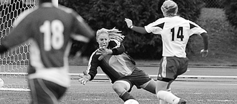 The University of British Columbia Thunderbirds, seen here playing against the Gaels at the 2006 national soccer championships, may leave Canadian competition to join the NCAA.