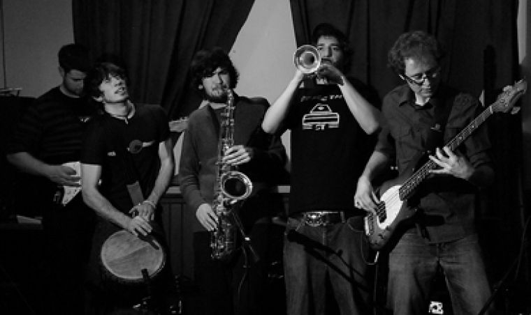 Vibrant student band Living Planet won second place at Tuesday's battle of the bands.