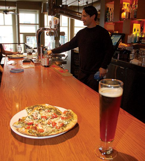 With a delicious menu and decadent atmosphere, Woodenheads was a shoo-in for Kingston's best pizza.
