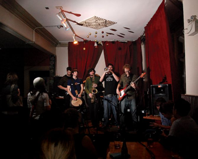 Voted the best live music venue in Kingston, The Grad Club's a perennial favourite for a rockin' night out.