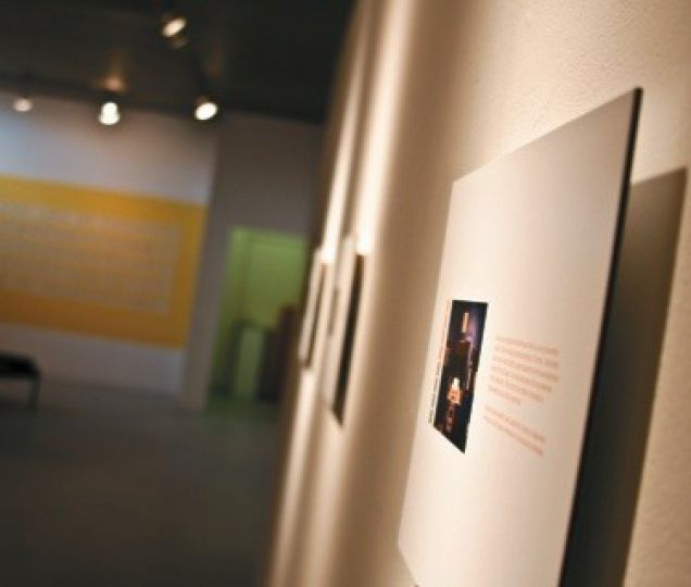 In Modern Fuel Gallery's exhibit One-Dimensional Space, different art exhibits are combined to work together in their spacial commentary.