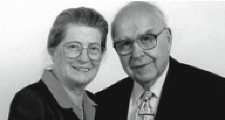 Isabel and Alfred Bader