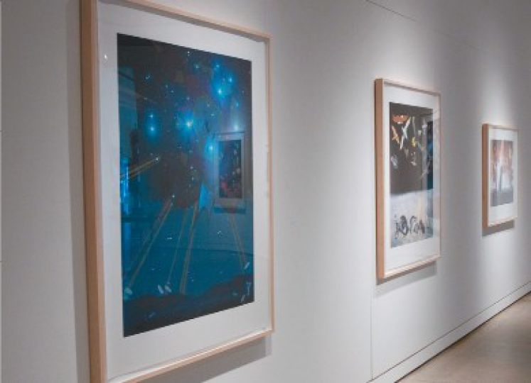 By putting familiar images in new contexts, Lloyd looks to challenge the cultural perspectives of Union Gallery's visitors.