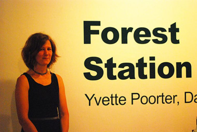 Local artists Anna Elmberg-Wright, Lisa Figge, Sandra Jass, Bruce Kauffman and Rebecca Soudant participated in Rotterdam-based artist Yvette Poorter's travelling project.