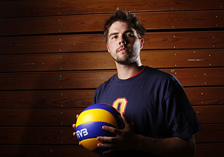 Former Gaels' setter Devon Miller is off to Norway this week to play professionally.