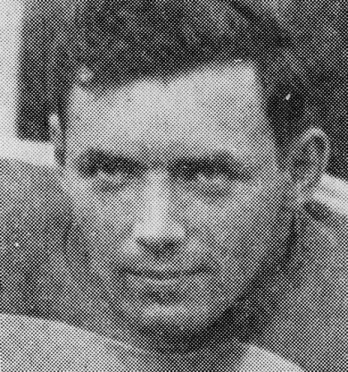 Hal 'Moose' McCarney when he played for the Gaels in 1949