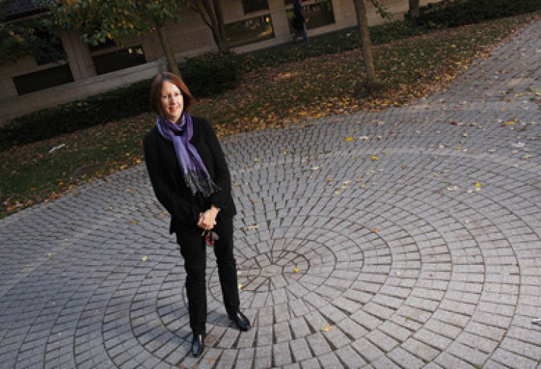 Faculty Support and Recruitment Co-ordinator Monica Stewart helps profs adjust to Queen's.
