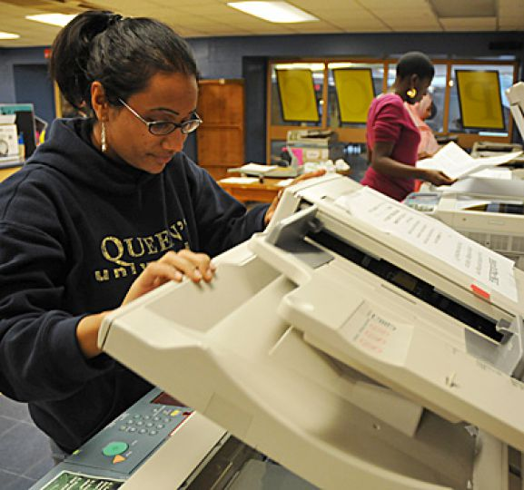 Due to a copyright liscensing issue, reserve readings at the P&CC will cost 17 cents per page. Before the price increase, students using a self-serve photocopier paid seven cents per page for reserve readings.