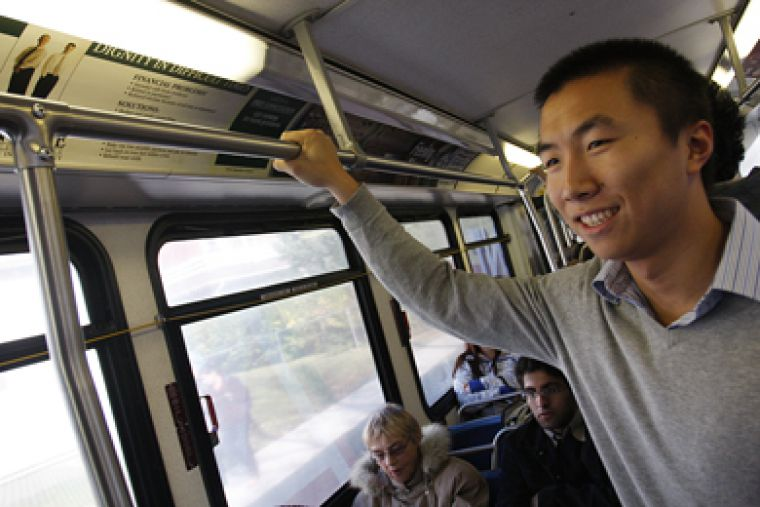 AMS Vice-President (Operations) Ken Wang says at $43.50, Queen's students pay one of the lowest fees for transit access when compared to other universities.
