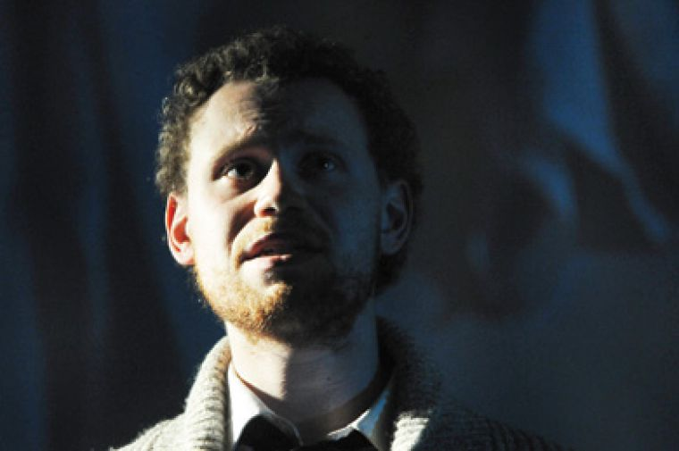 Kevin Doe plays a young Albert Einstein in Chaos Theory's latest production.