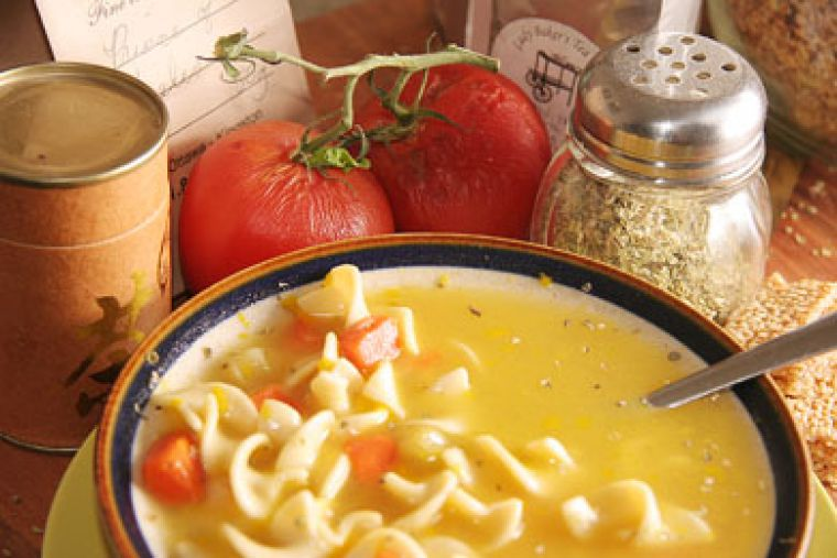 Chicken noodle soup helps clear out toxins from the liver and the intestinal system, says Diane Dawber, facilitator of the Health Pursuits Group.