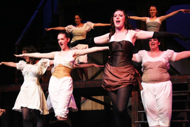 Queen's Musical Theatre opened their 2009 season--and their 40th anniversary celebrations--at The Grand Theatre on Tuesday with Jekyll & Hyde. For review, see the Arts & Entertainment section.