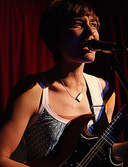 Land of Talk's Liz Powell returned with a new album and fresh band members to the Grad Club last Friday. For more concert photos, see page 11.