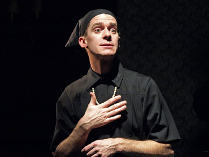Theatre Kingston's Brett Christopher performs the Pulitzer Prize-winning one-man show at The Baby Grand Theatre.