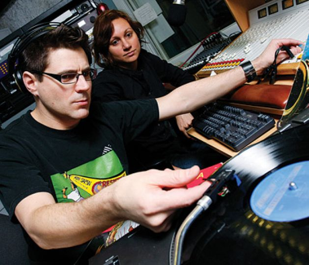 Toby Moorsom—also known as DJ Redfoot—spins pan-African and Latin sounds.