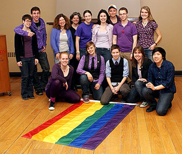 The Queen's Pride Week 2009 executive