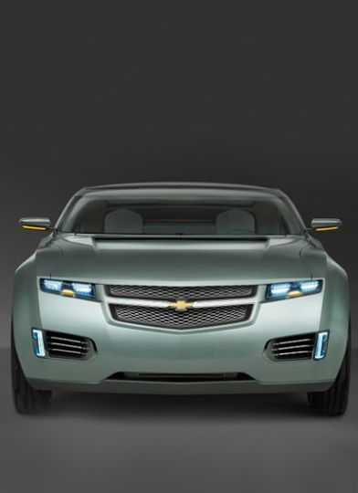 The Chevrolet Volt, produced by General Motors, is set to roll off the assembly lines in 2010. A plug-in hybrid electric vehicle, it will drive 64 kilometres on a fully-charged battery.