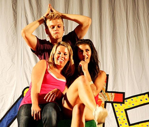 A sorted tale: Tristan Stewart, Laura Layland, and Alexsandra Marzocca.