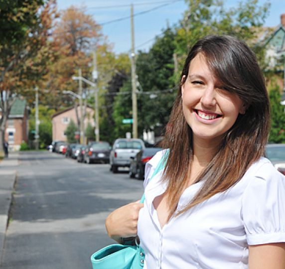 "Lauren McCormick, ArtSci '12, is a member of the Facebook group ""Aberdeen Street Party."""
