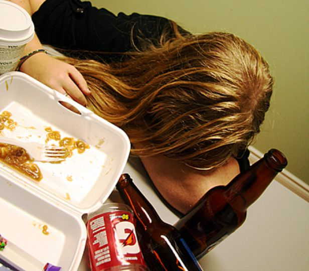 The consequences of binge-drinking aren't all immediate.