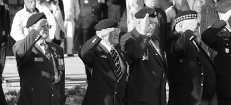 Remembrance Day draws above-average crowds of veterans and their supporters at the Kingston Royal Canadian Legion Branch 560.