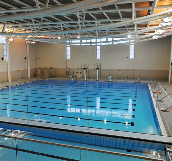 The Athletics and Recreation Centre's upper-level gym facilities will open on Dec. 1. The lower gym, which suffered damage from a flood on Aug. 11, will open in January.
