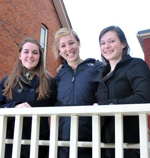 Laura Sullivan, Thea Pel and Anna Pfeiffer are the incoming CESA executive-elect with 250 out of 257 votes.