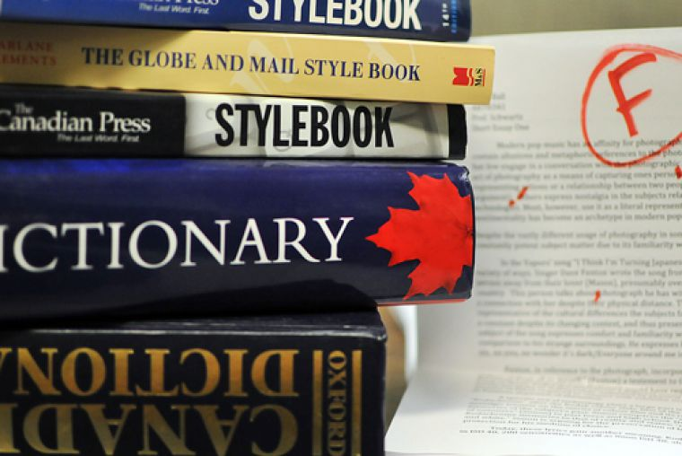 Many university professors are noticing a recent downward trend in students' proficiency of basic spelling and grammar rules.