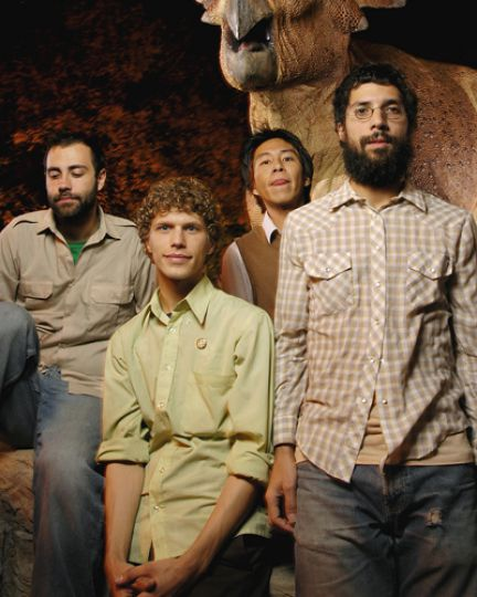 The Acorn still play small venues in Kingston, but they have toured the world.