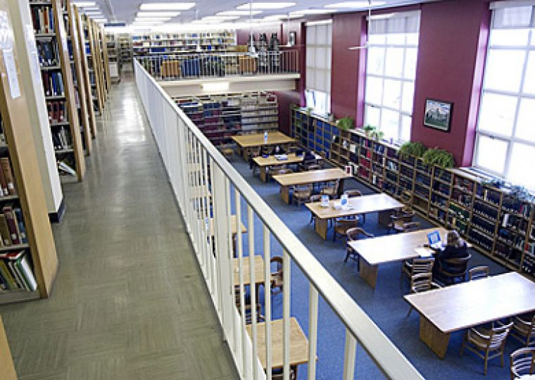 The Lederman Law Library is operated by the equivalent of six-and-a-half full-time staff.