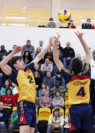 The men's volleyball team came in fifth at the CIS Championships in Kamloops. It was their first time at nationals since the 2007 season.