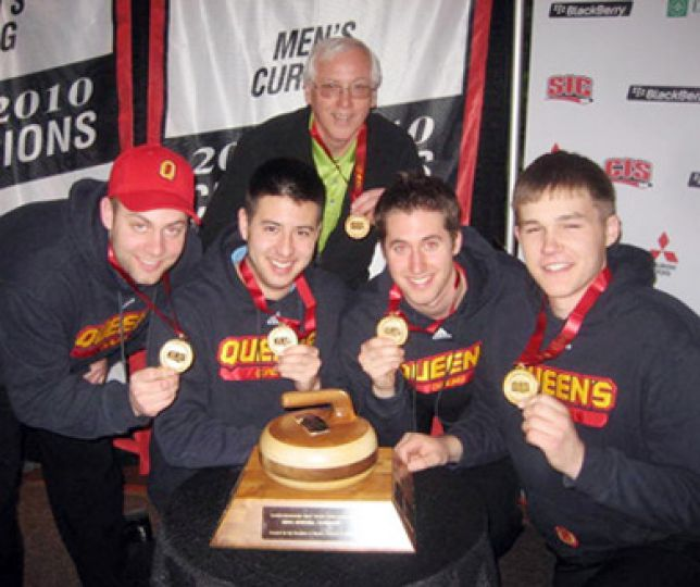 The curling team won its first-ever CIS championship last week in Edmonton, Queen's second national banner this season.