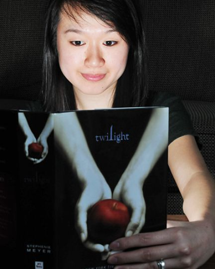 Crystal Wong, ArtSci '10, is an avid reader of the Twilight series, which has sold more than 85 million copies worldwide.