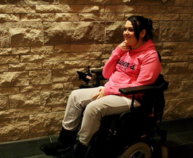 Katie Charboneau says Accessibility Queen's has been very active this year.